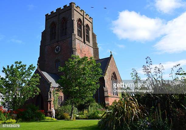 going to church - whitehaven cumbria stock pictures, royalty-free photos & images