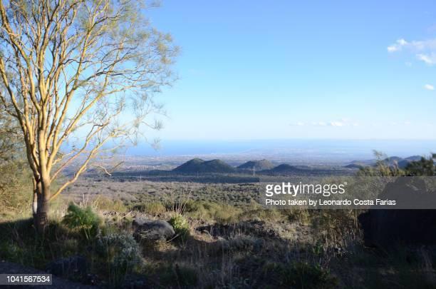 going to meet etna - leonardo costa farias stock photos and pictures