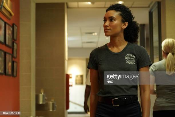 FIRE 'Going to War' Episode 702 Pictured Annie Ilonzeh as Emily Foster