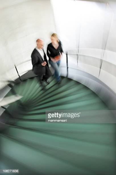 Going eine moderne Treppe-Motion