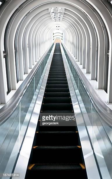 Going Up: Long Escalator