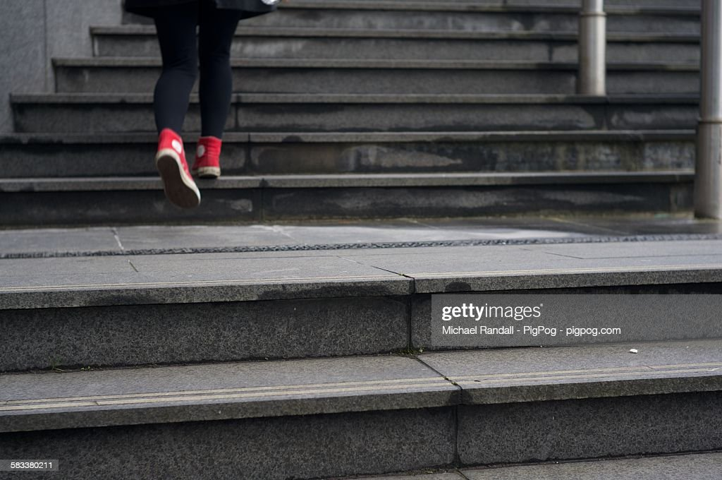 Going up : Stock Photo