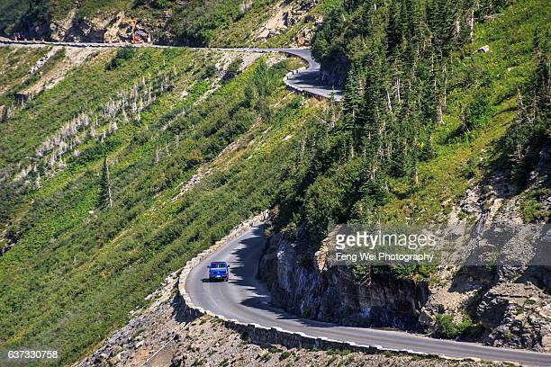 Going-to-the-Sun Road, Glacier National Park, Montana, USA