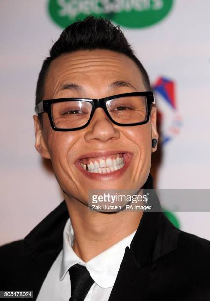 Gok Wan arrives for the Specsavers Spectacle Wearer of the Year awards 2009 at the Victoria and Albert Museum in London