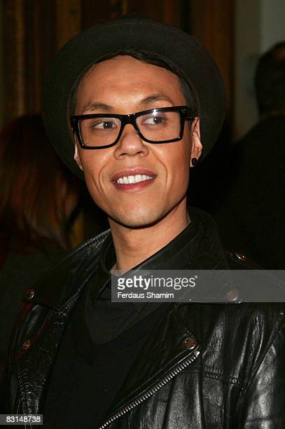 Gok Wan attends the Evening Standard's party celebrating London's 1000 Most Influential People 2008 at The Wallace Collection on October 6, 2008 in...