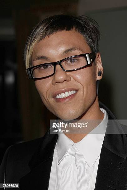 Gok Wan attends the TV Quick and TV Choice Awards at the Dorchester Hotel on September 03 2007 in London
