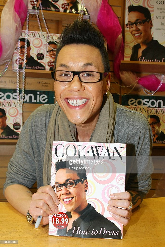 Gok Wan Signs Copies Of His Book How To Dress In Easons O