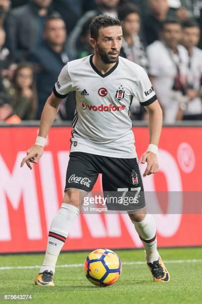 Gokhan Gonul of Besiktas JK during the Turkish Spor Toto Super Lig football match between Besiktas JK and Teleset Mobilya Akhisarspor on November 17...