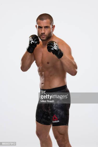Gokhan Saki of the Netherlands poses for a portrait during a UFC photo session on September 20, 2017 in Tokyo, Japan.