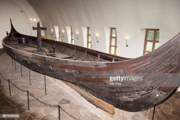 Gokstad Viking ship Viking Ship Museum Bygdoy Oslo Norway