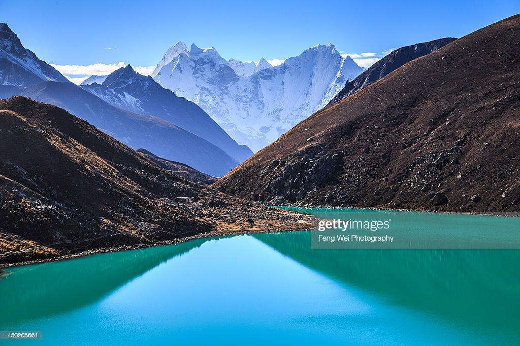 Gokyo Lake, Sagarmatha National Park, Nepal : Stock Photo