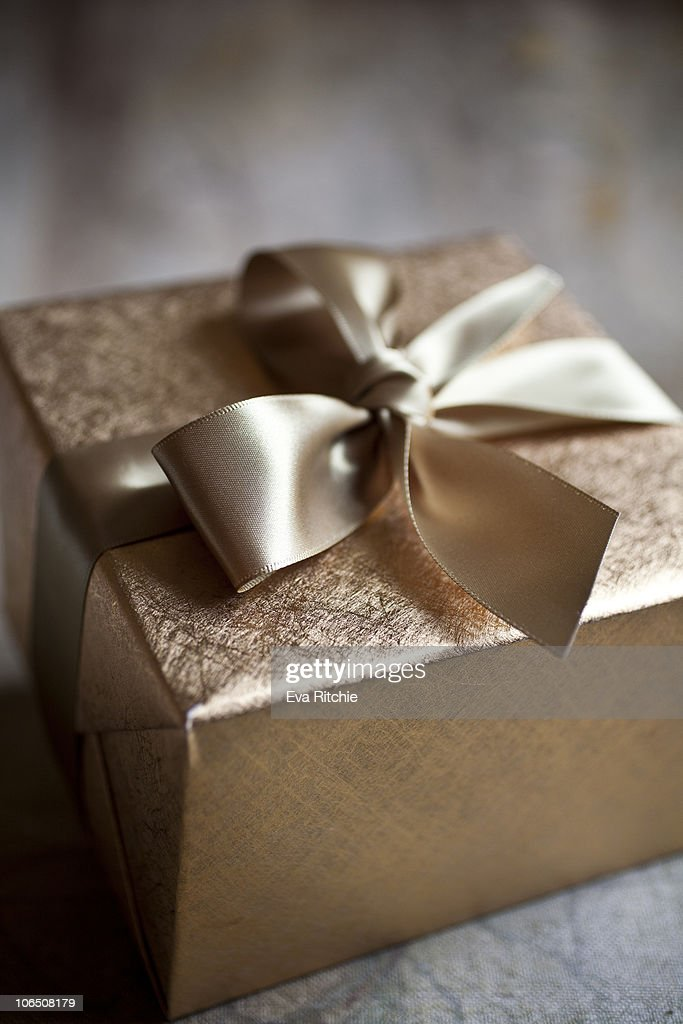 Gold and elegant gift wrapping getty images gold and elegant gift wrapping negle Choice Image