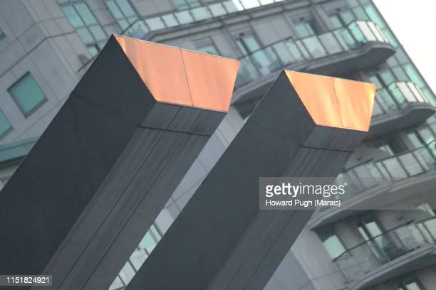 Gold and Grey Ingot Architecture
