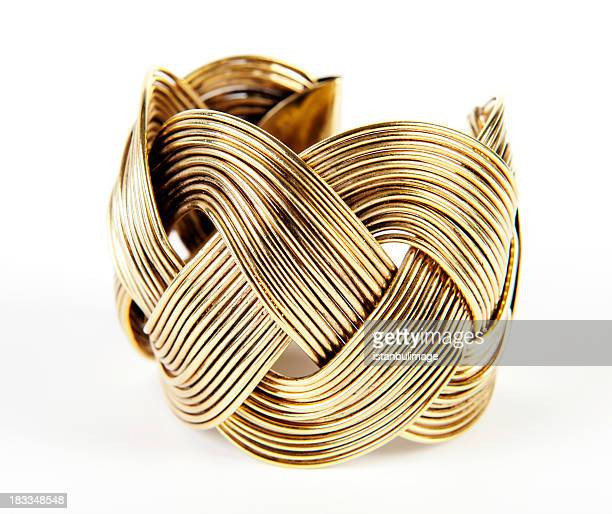 gold bracelet - jewellery stock pictures, royalty-free photos & images