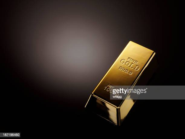 gold bullion - gold bars stock photos and pictures