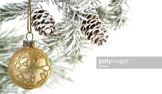 Decoración de Navidad oro