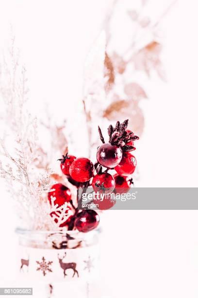 Gold Close-Up Brunch Christmas ornament- Regional Christmas Backgrounds