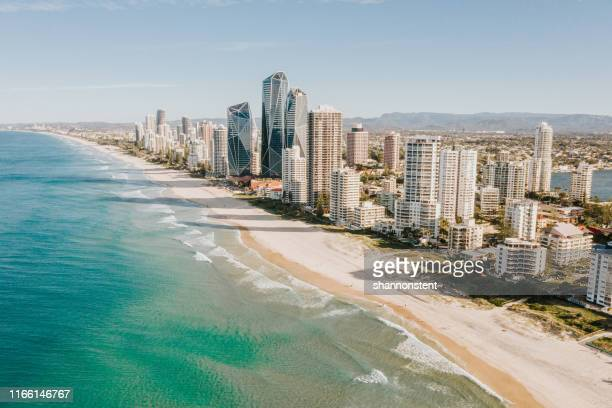 gold coast, australien - queensland stock-fotos und bilder