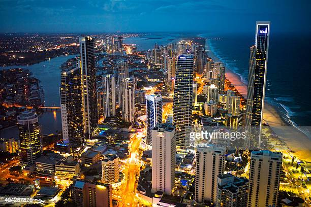 Gold Coast City at Night