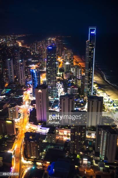 Gold Coast City at Night