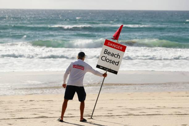 AUS: Popular Gold Coast Beaches Close Due To Coronavirus Restrictions