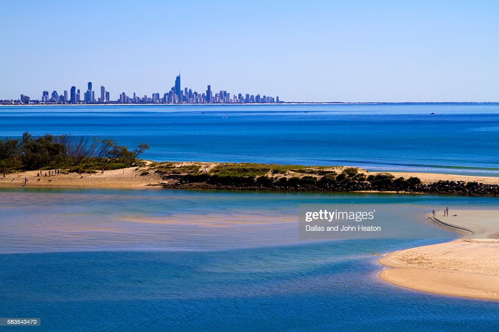 Gold Coast, Surfers Paradise : Stock Photo