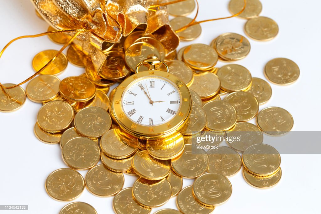 Gold Coins Stock Foto Getty Images