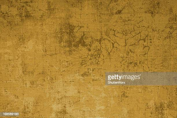 Gold Colored Grunge Pattern