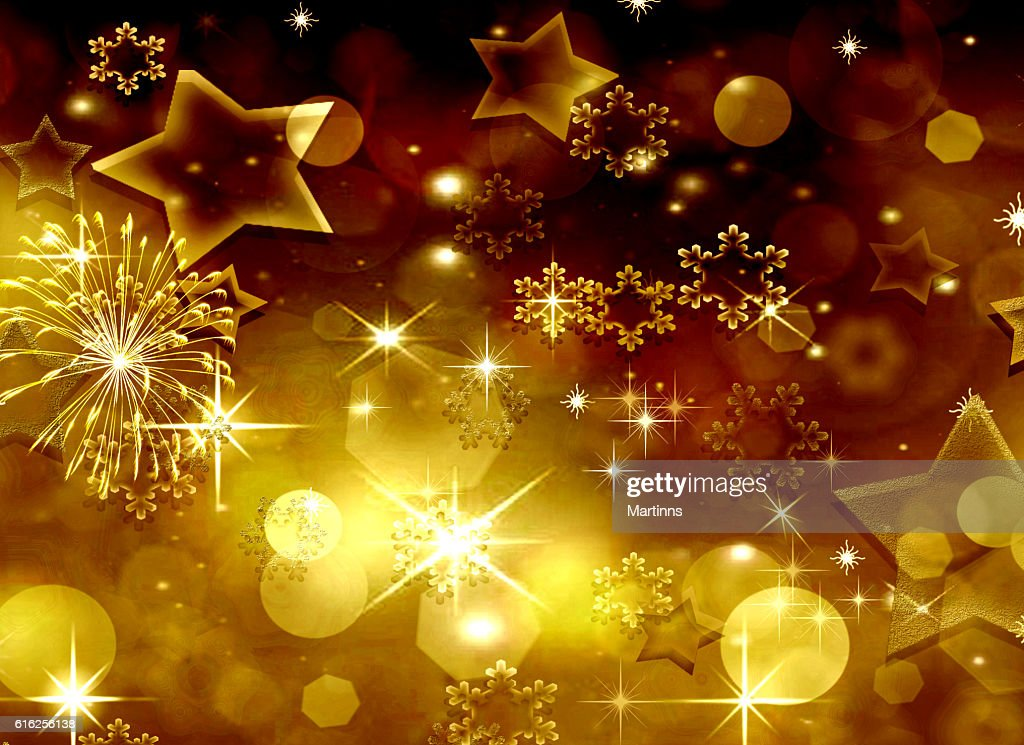 Fondo festiva dorado : Foto de stock