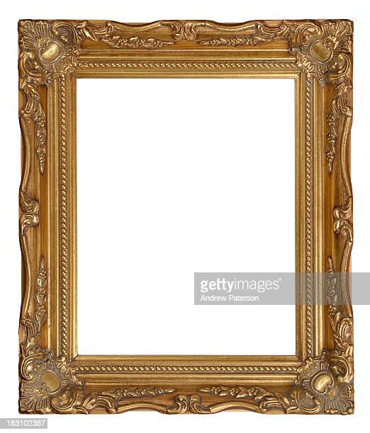 Gold decorative picture frame