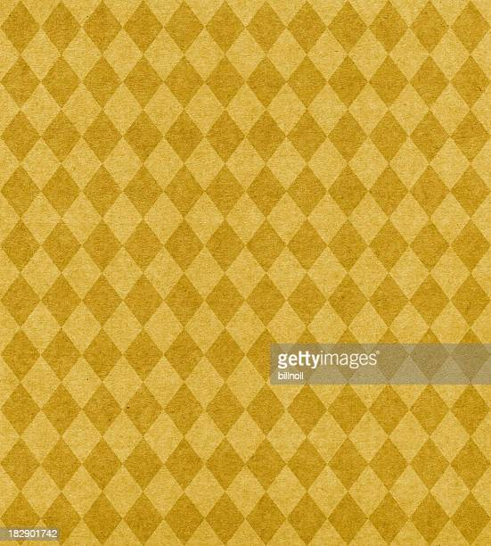 gold diamond pattern paper