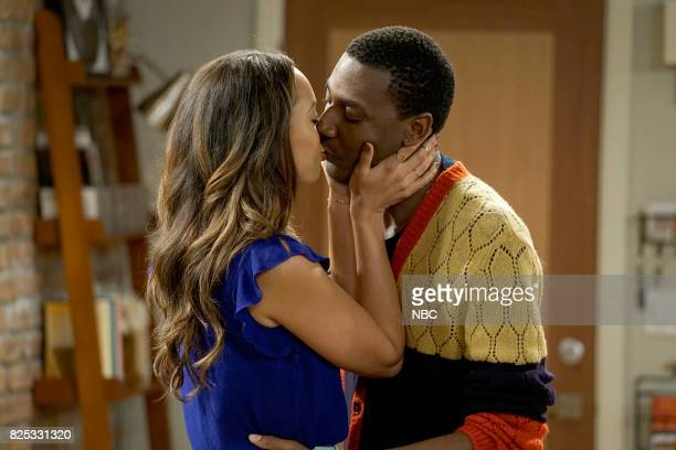 SHOW 'Gold Diggers' Episode 313 Pictured Amber Stevens West as Maxine NorthCarmichael Jerrod Carmichael as Jerrod Carmichael