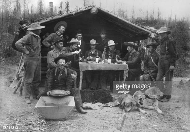 Gold diggers in Whisky Hill Canada May 30 1900