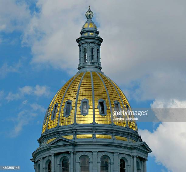 Gold Dome of Colorado State Capitol