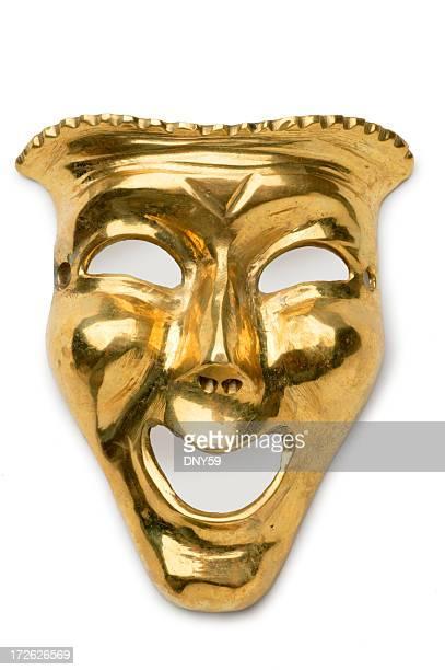 Masque d'or théâtrale