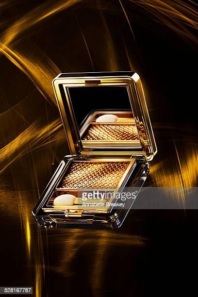 Gold Eyeshadow Compact