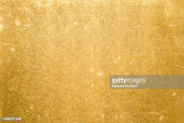 gold foil texture background - gold foil stock photos and pictures