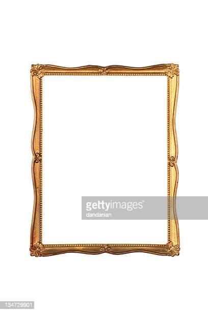 gold frame fine - XXXL