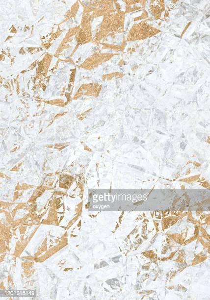 gold geometric polygonal abstract background - mármore rocha - fotografias e filmes do acervo