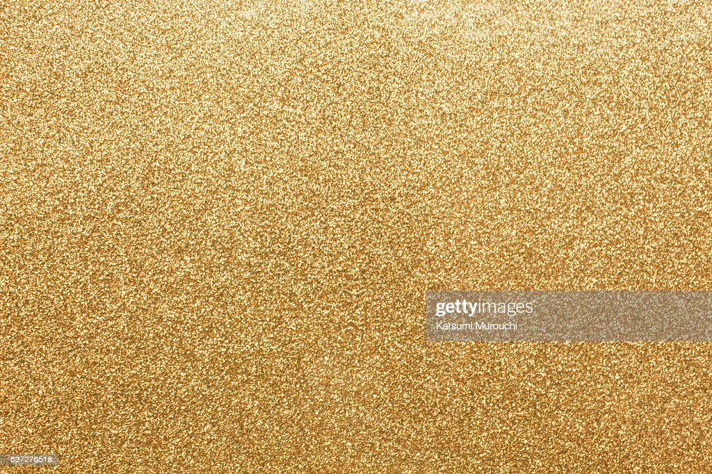 Gold glitter paper texture background : Stock Photo