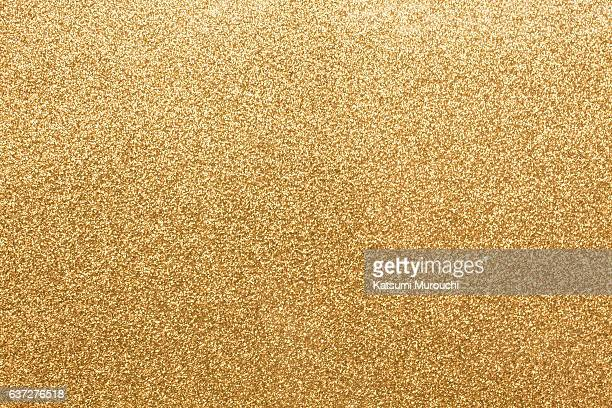 Gold glitter paper texture background