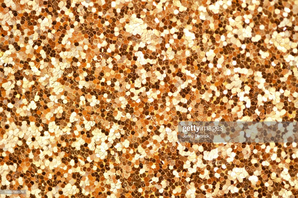 Gold glitter : Stock Photo