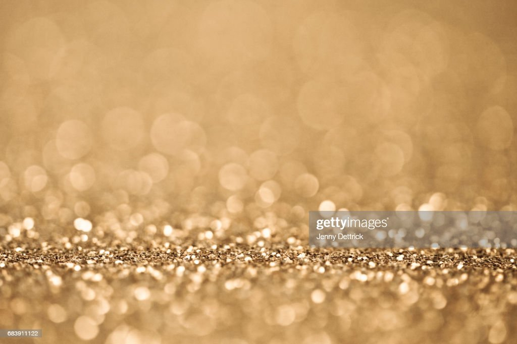 Gold glitter : Stock Photo
