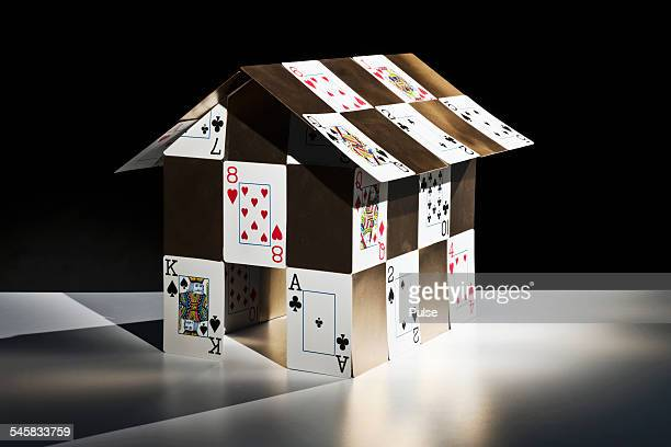 Gold house of cards