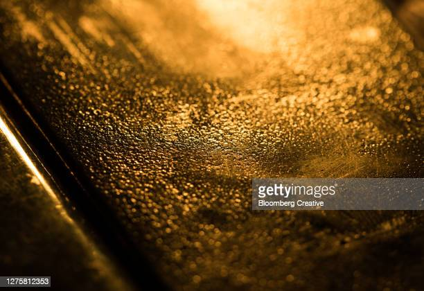 gold ingot - gold coloured stock pictures, royalty-free photos & images