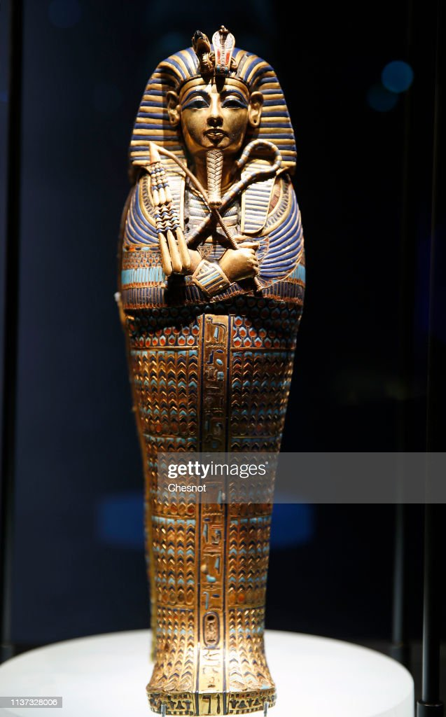 "FRA: ""Toutankhamon, Le Tresor Du Pharaon - Tutankhamun And The Golden Age Of The Pharaohs"": Press Preview At La Villette In Paris"