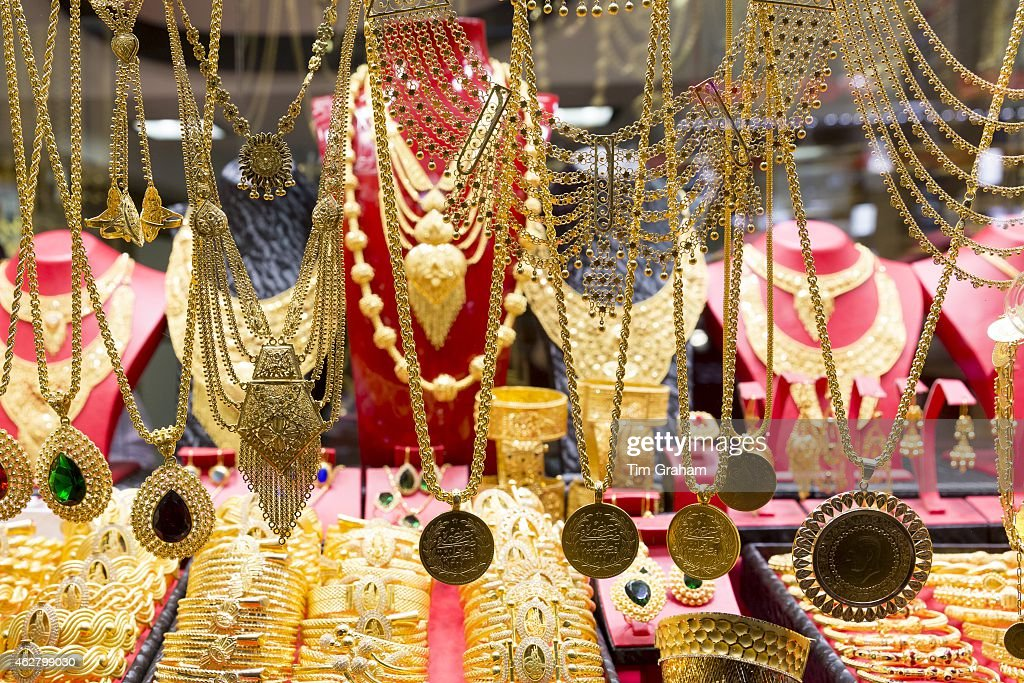 Gold Jewelry in Grand Bazaar Istanbul Turkey Pictures Getty Images