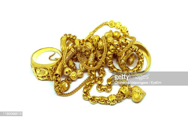 gold jewelry - antiquities stock pictures, royalty-free photos & images