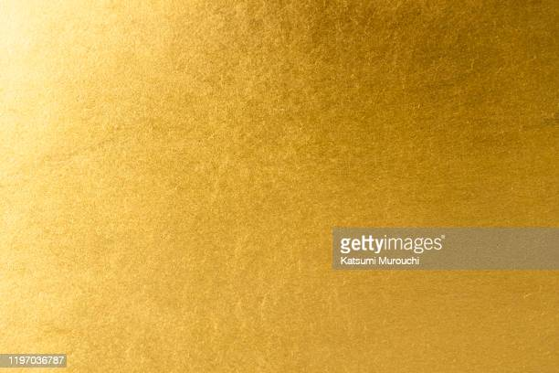 gold leaf texture background - gilded stock pictures, royalty-free photos & images