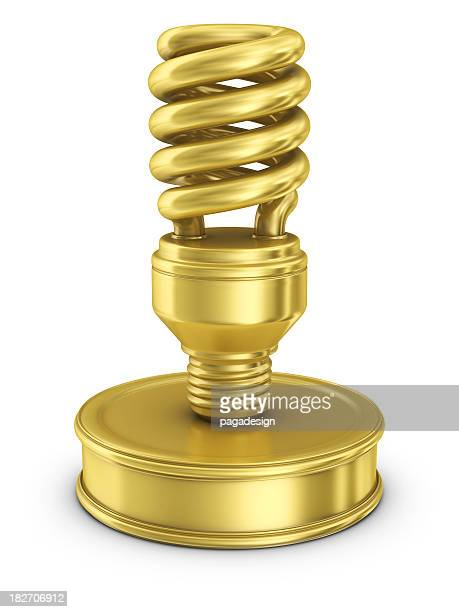 gold light bulb award